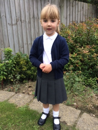 First day of School 7th Sept 15