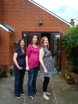 Pregnant Siblings