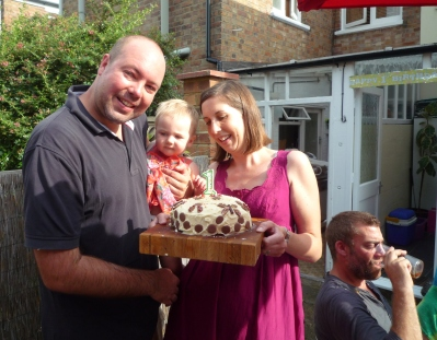 32 - Cherry Jon & Alice + cake